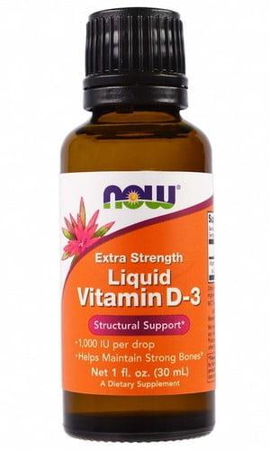 Витамин D-3 NOW все формы выпуска их состав и стоимость